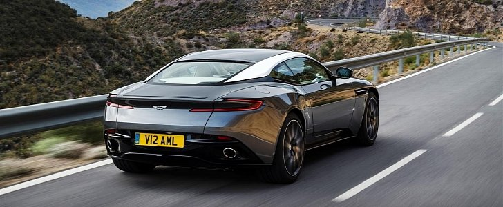 First Aston Martin Db11 Videos Quench Our Thirst For Details And Exhaust Sound Autoevolution