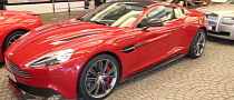 First New Aston Martin Vanquish Spotted in Dubai [Video]