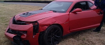 First Camaro ZL1 Crash: Top Gear USA Consulting Producer