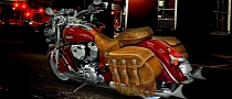 First Custom 2014 Indian Chief Classic Mufflers Come from Samson