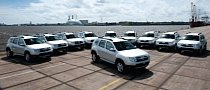 First Dacia Dusters Reach UK Shores