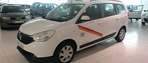 First Dacia Lodgy Taxi Spotted in Spain