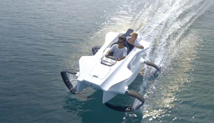 First Electric Hydrofoil Sports Boat Coming in 2015 for €15K - autoevolution
