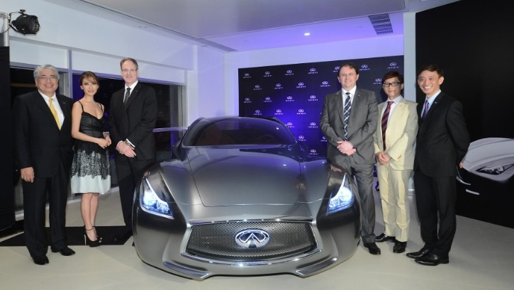 First-Ever Infiniti Showroom Opened in Hong Kong