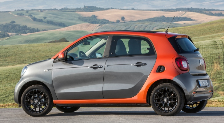 first ever smart forfour electric drive coming in 2016. Black Bedroom Furniture Sets. Home Design Ideas
