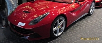 First Ferrari F12 Berlinetta Spotted in Dubai [Video]