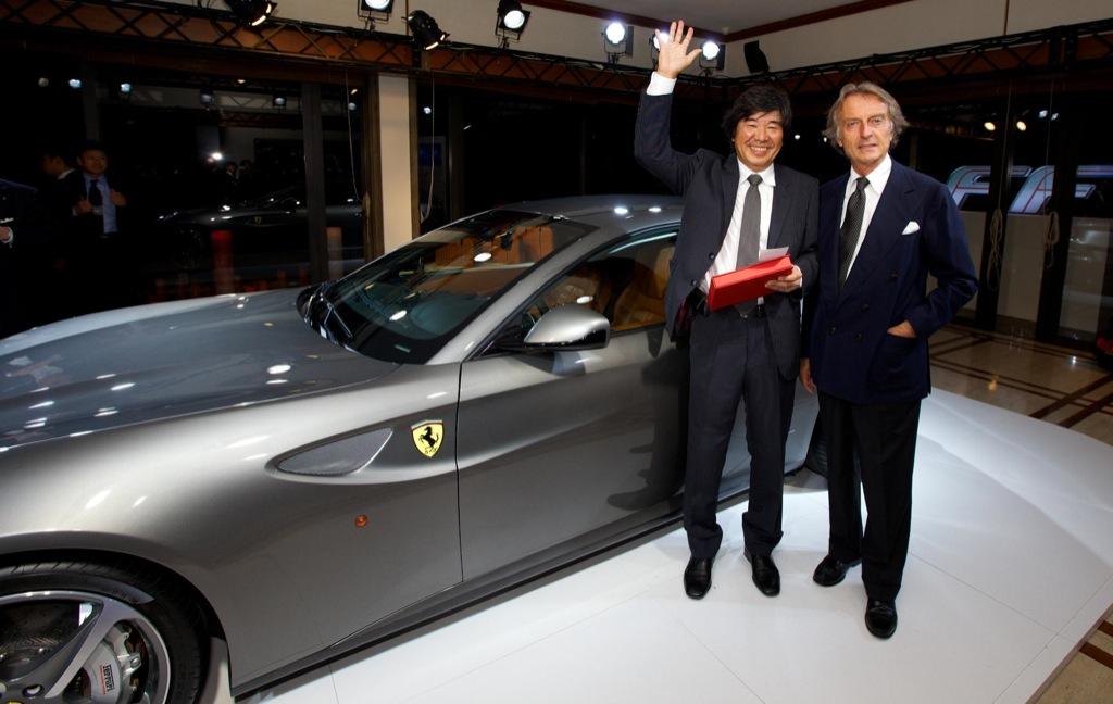 First Ferrari Ff In Japan Sold In Charity Auction