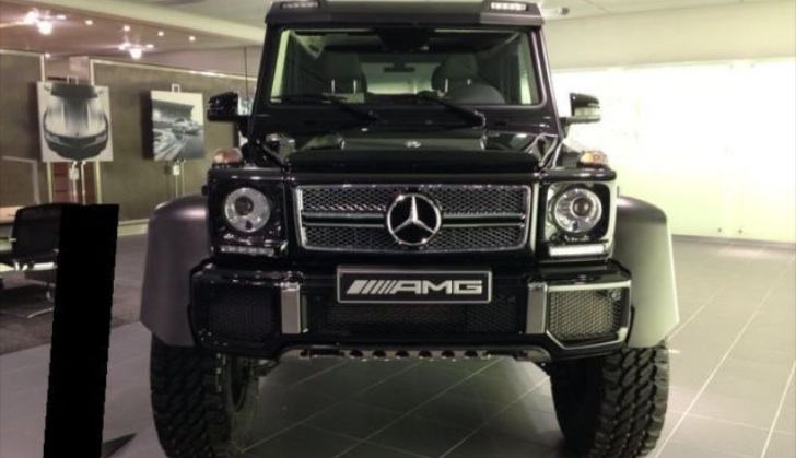 First g 63 amg 6x6 built is up for grabs autoevolution for Mercedes benz g class 6x6 for sale