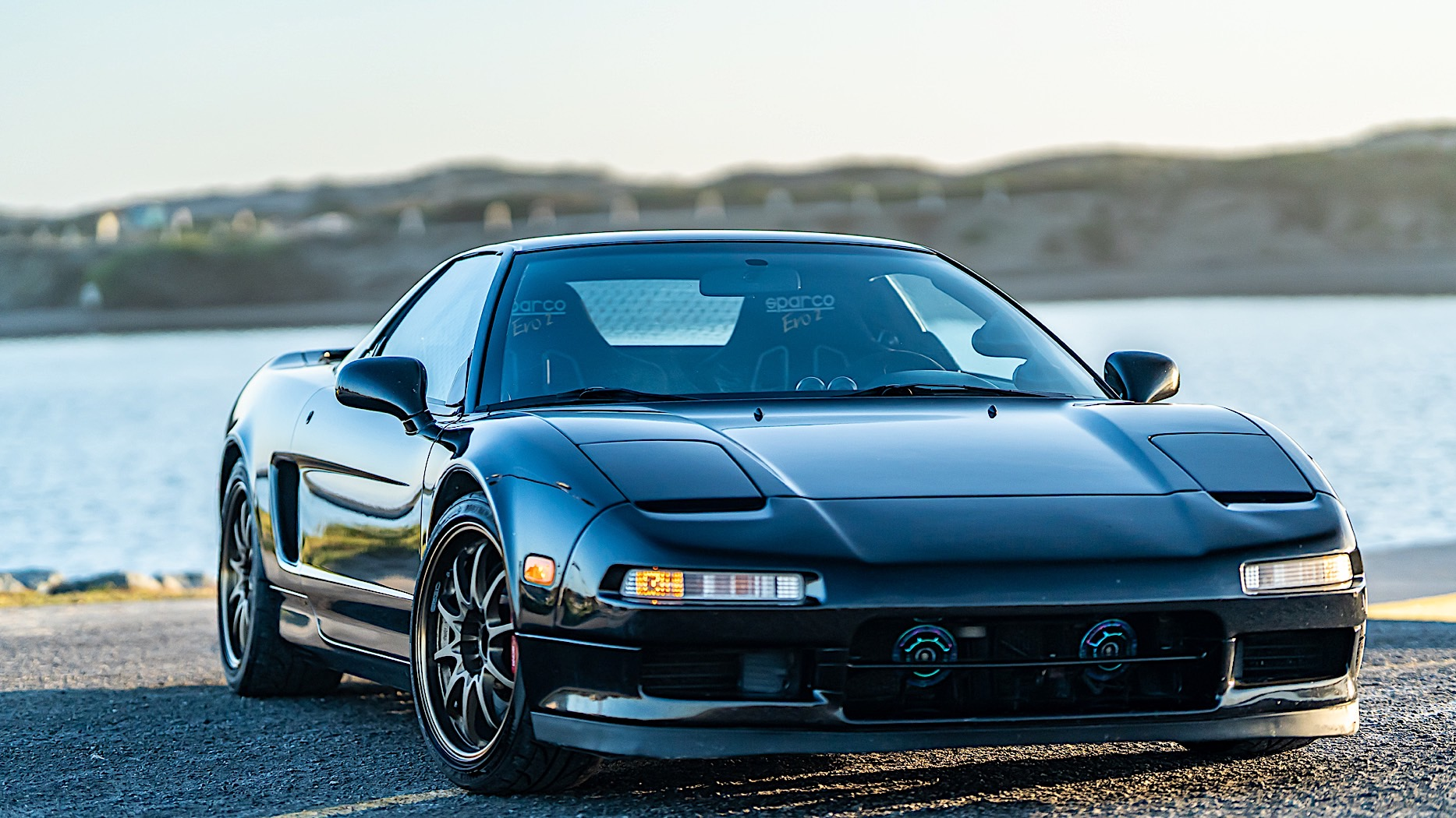 First Gen Acura Nsx Is An All Black Blast From The Past Autoevolution
