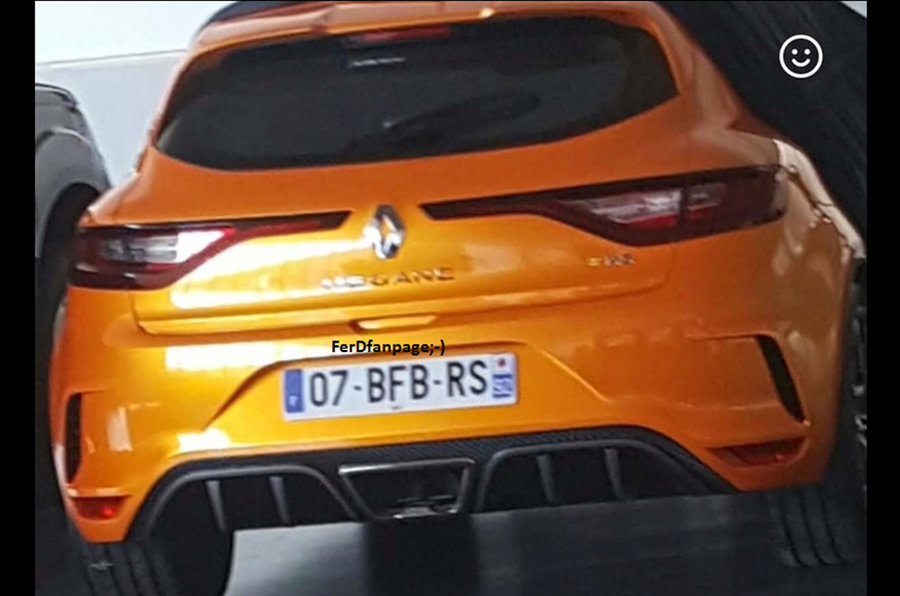 2018 renault rs.  2018 17 photos 2018 renault megane rs teaser  intended renault rs