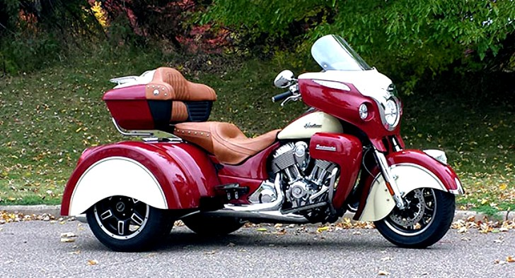 2015 Can Am >> First Indian Roadmaster Trike Is Ready, Looks Really Trick - autoevolution