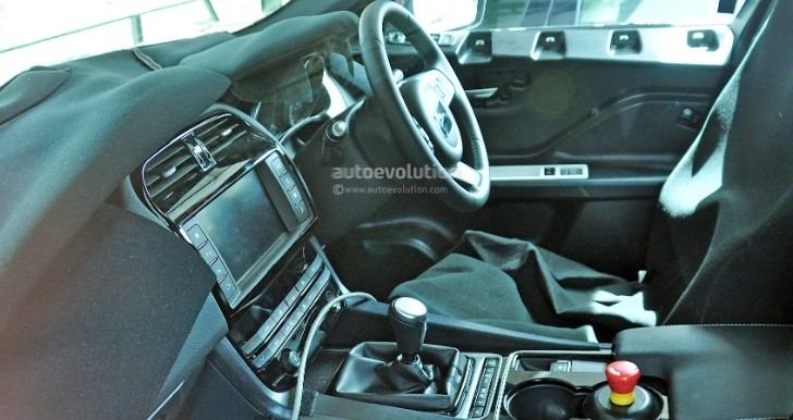 first jaguar f pace interior spy photos show manual gearbox xf rh autoevolution com jaguar xf user manual pdf jaguar xf owners manual 2014