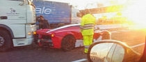 First LaFerrari Crash Occurs in Italy