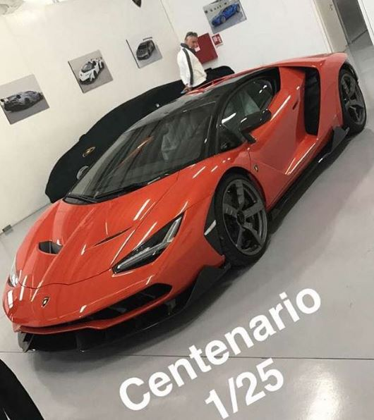 Update First Lamborghini Centenario Customer Cars Ready For