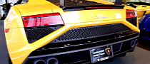 First Lamborghini Gallardo Squadra Corse in the US [Video]