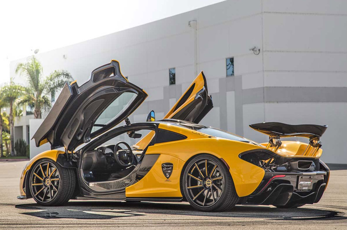 11 Photos Mclaren P1 With Giovanna Wheels
