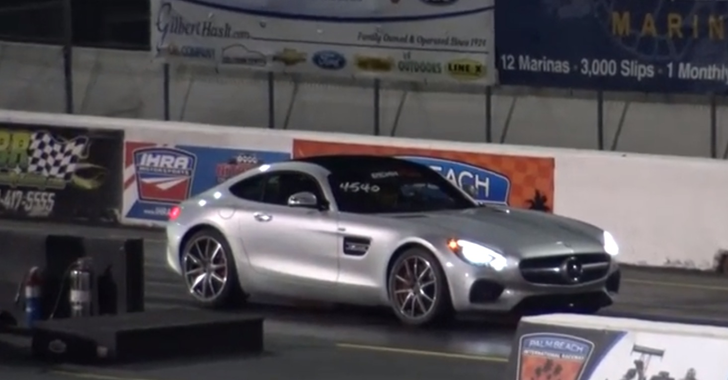 First Mercedes-AMG GT S Does Quarter Mile Drag Race: 11.2s at 127 ...