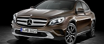 First Mercedes-Benz GLA (X156) Rolls Off The Production Line