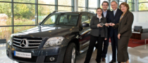 First Mercedes-Benz GLK Delivery