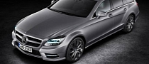 First Mercedes CLS Shooting Brake Official Photo Leaked