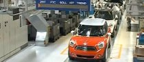 First MINI Countryman Rolls Off Production Line [Video]