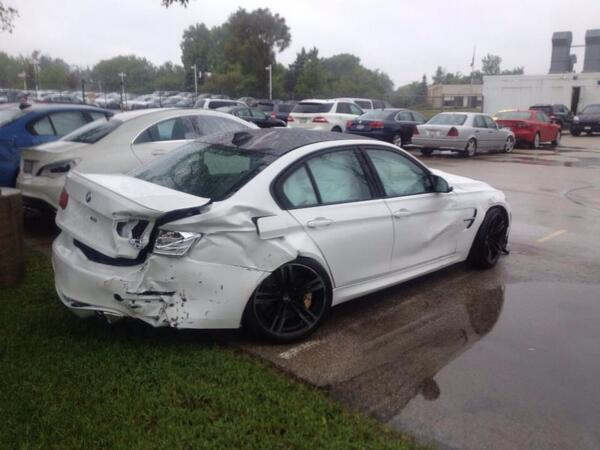 First Photos Of Crashed F80 M3s Show Up Online Autoevolution
