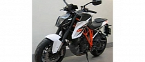 First Pictures of the 2014 KTM 1290 Super Duke R