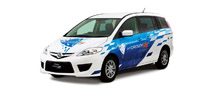 First Premacy Hydrogen RE Hybrid Delivered by Mazda in Japan