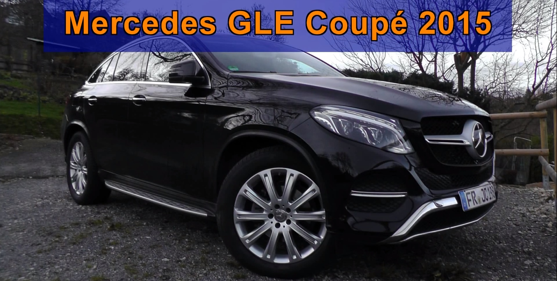 New First Production 2015 Mercedes GLE Coupe Filmed In The