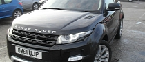 First Range Rover Evoque to Be Sold at Auction
