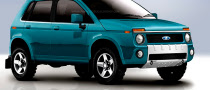 New Lada Niva First Renderings Revealed