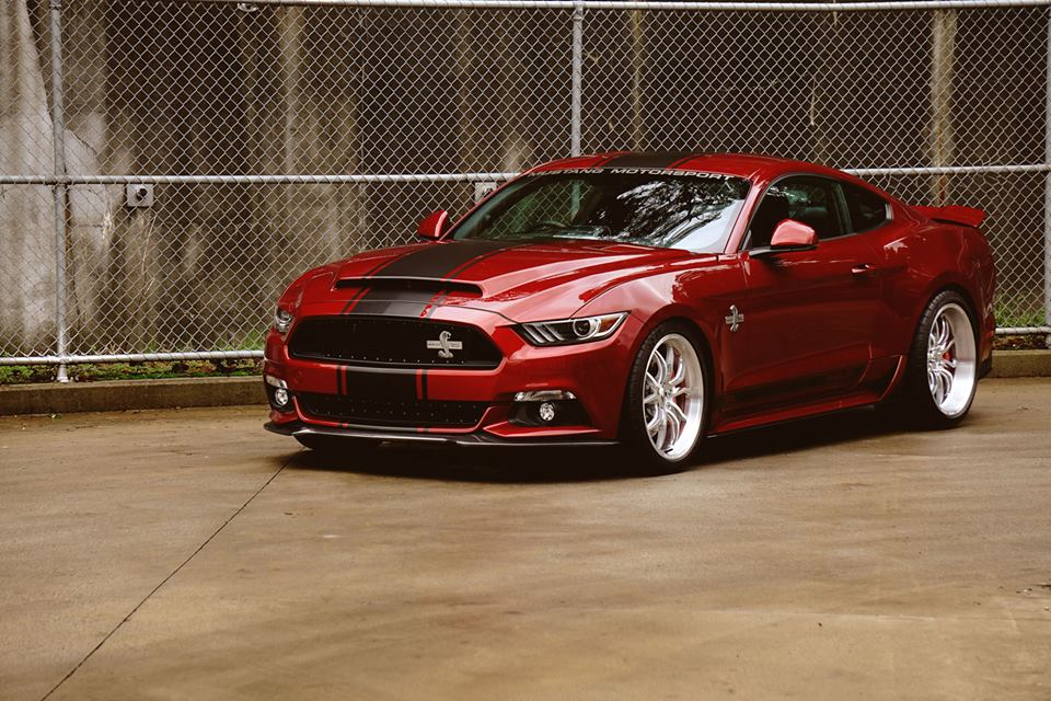 First Right Hand Drive 2016 Shelby Super Snake