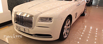 First Rolls Royce Wraith in Dubai Is White [Video]