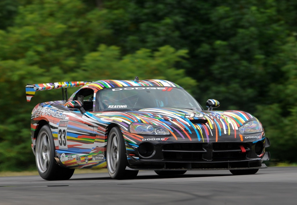 First Round Of Dodge Viper Cup Won By Bmw Art Car Inspired