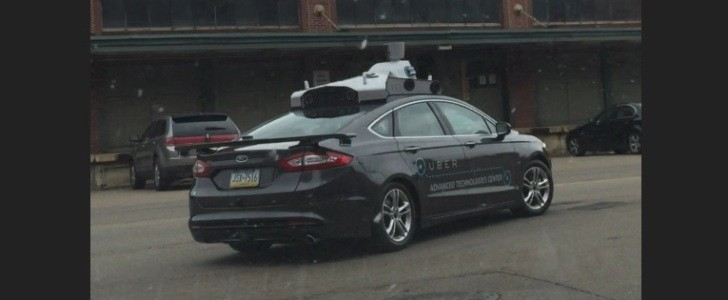Is This Uber's Self-Driving Car? First Spotting Says So
