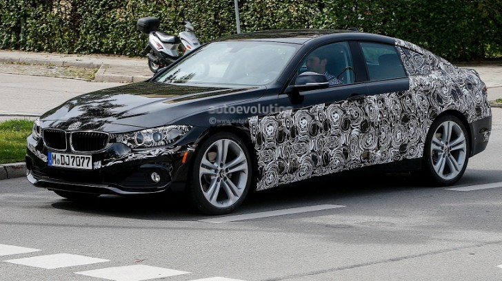 First Spy Shots of the Upcoming BMW F36 4 Series Gran Coupe