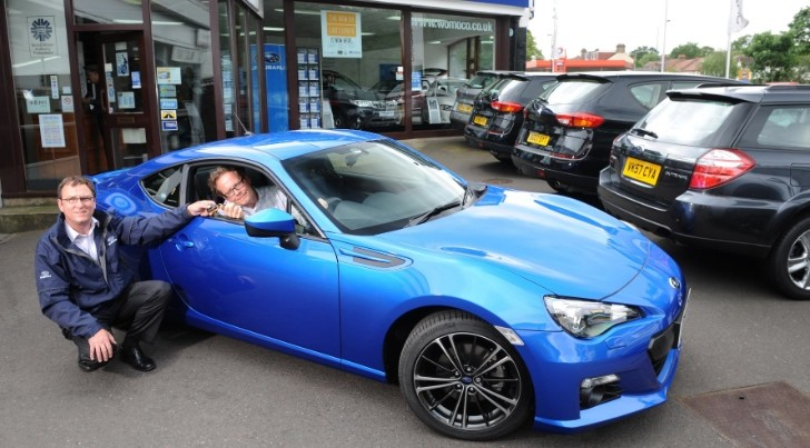 First Subaru BRZ Delivered in the UK - autoevolution