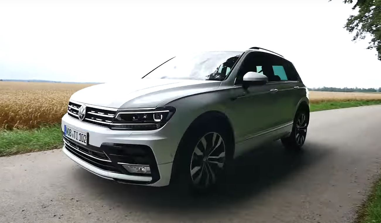 First tiguan 2 0 biturbo 240 hp acceleration test is here