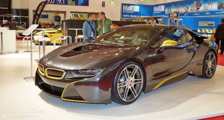 First Tuned BMW I8 Shows Up At The Essen Motor Show Under Manharts