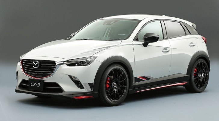 First Tuned Mazda2 and CX-3 Revealed Ahead of Tokyo Auto ...