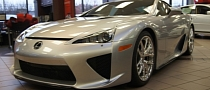 First Used Lexus LFA Sold on Ebay