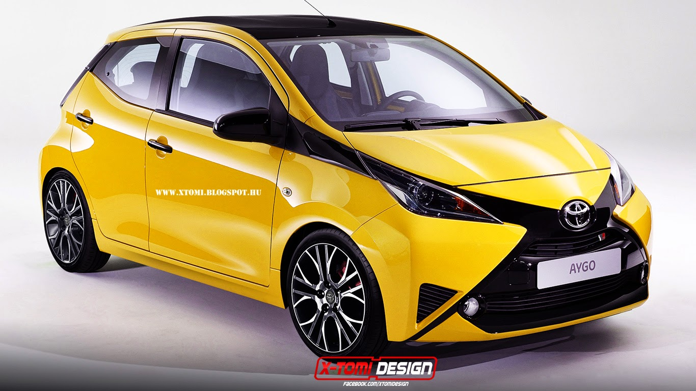 first virtually tuned toyota aygo is here we re dazzled autoevolution. Black Bedroom Furniture Sets. Home Design Ideas