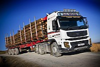 David Wood Volvo FMX tractor unit