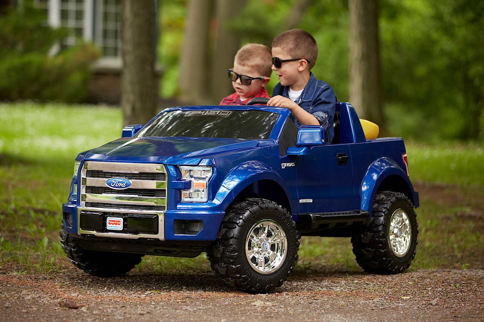 power wheels ford f 150 will make you want to be a kid again autoevolution. Black Bedroom Furniture Sets. Home Design Ideas
