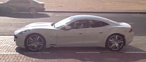 Fisker Karma First Spotting in Dubai [Video]