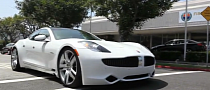 Fisker Karma Testdriven by Santa Monica Dealer [Video]