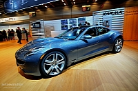 Production-ready Fisker Karma at the 2010 Paris auto show