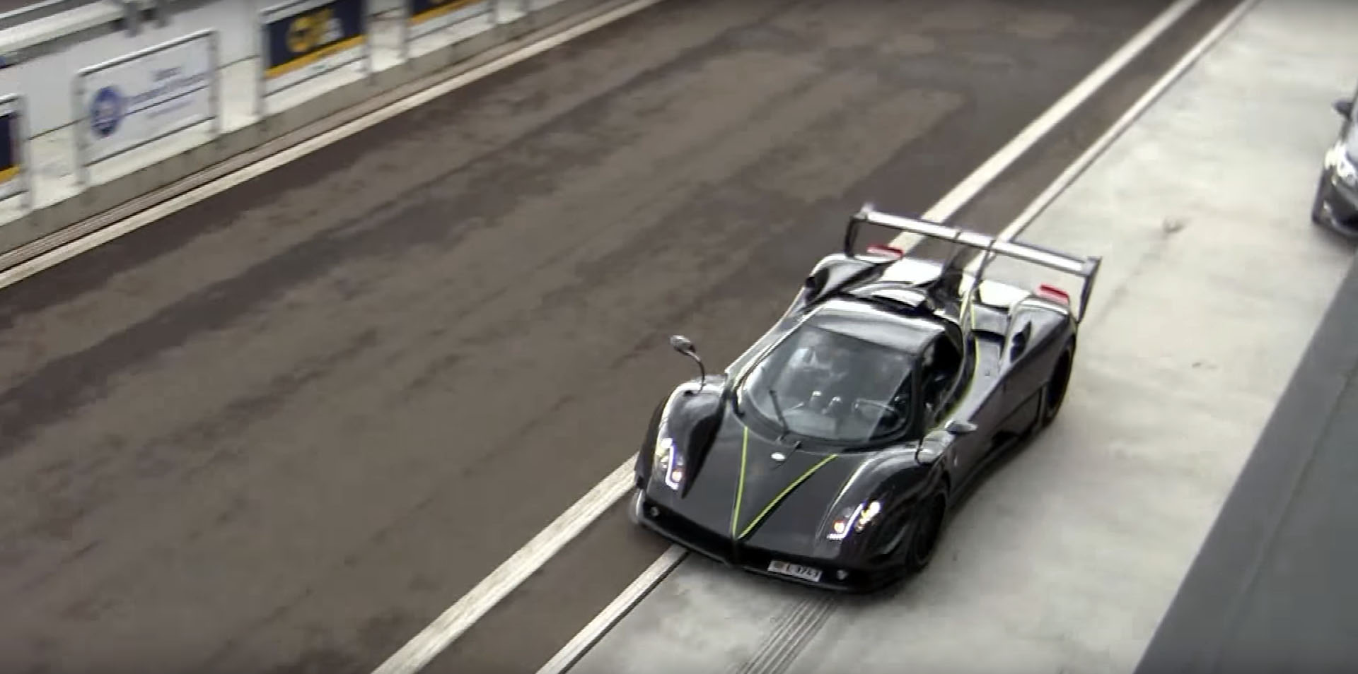 Five Minutes Of The Best Sounding Car Ever The V12 Pagani Zonda Autoevolution