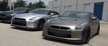 Five Nissan GT-Rs Battle for Supremacy [Video]