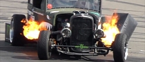 Flame-Spitting Rat Rod Takes Gymkhana to the Next Level [Video]